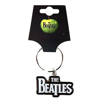 The Beatles Logo Metal Keyring