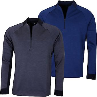 Oakley Hombres Knockdown Mixed Fleece 1/4 Zip Golf Sweater