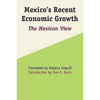 Mexico's Recent Economic Growth - The Mexican View by Marjory Mattingl