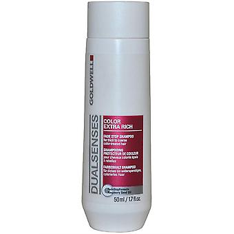 DualSenses von Goldwell Fade Stop Shampoo 50ml Color Extra Rich