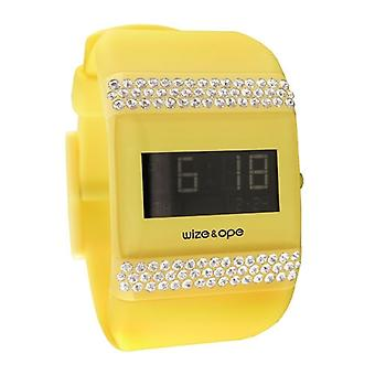 Wize and Ope Classic  Yellow Digital  Watch WO-ALL-14S