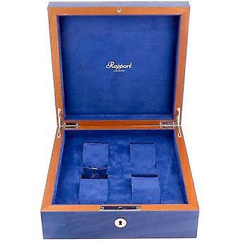 Rapport London Watch Box Heritage blauw 4 Watch Box L400
