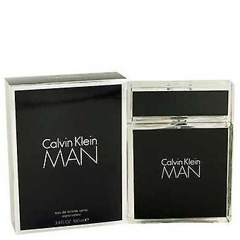 كالفن كلاين رجل بواسطة كالفن كلاين أو دي Toilette رذاذ 3.4 أوقية (رجال) V728-441774