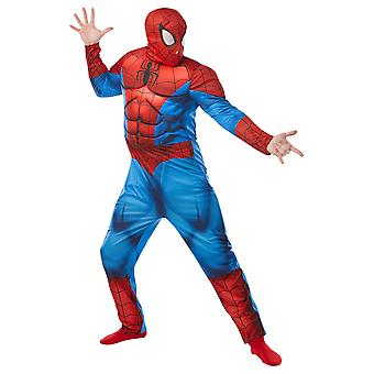 Adult Spider-man Deluxe Costume