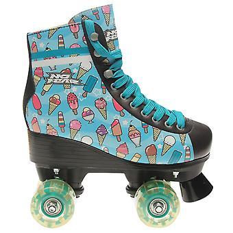 No Fear Girls Kids Junior Lolly Sports Training Quad Roller Skates Child