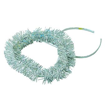 Bristol Novelty Unisex Adults Tinsel Halo