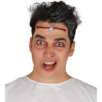 Halloween Make-up gesneden voorhoofd SCAR wond fancy dress accessoire