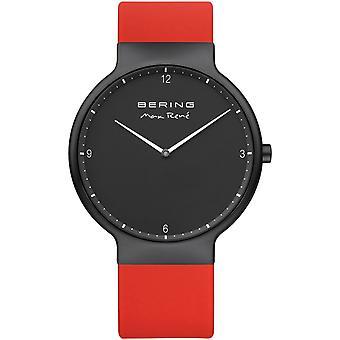 Bering Herren Uhr Armbanduhr Max René  Ultra Slim - 15540-523 Silikon