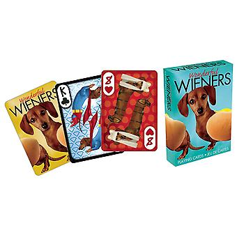Playing Card - Wonderful Weiners - Photos Poker Licensed Gifts Toys 52233