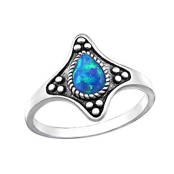 Ornate - 925 Sterling Silver Jewelled Rings - W32336X