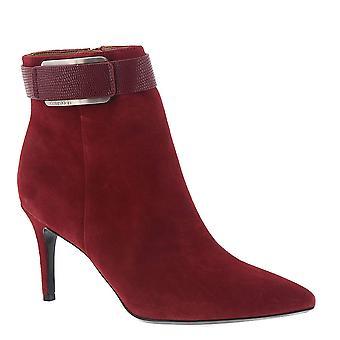 Calvin Klein Womens Georgene Pointed Toe Mid-Calf Fashion Boots