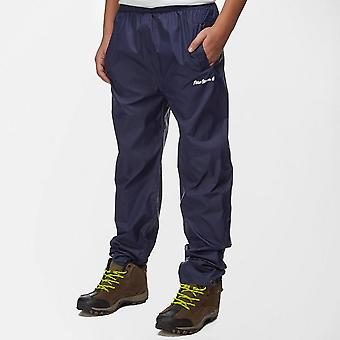 New Peter Storm Kids Camping Unisex Packable Trousers Navy