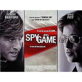 Spy Game Original Cinema Poster