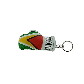 Cle Cles Key Flag Guyana Boxing Glove Flag