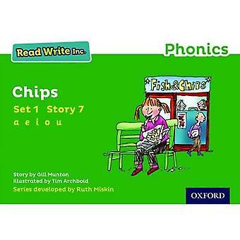 Read Write Inc. Phonics: Green Set 1 Storybook 7 Chips