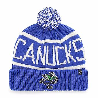 ' 47 NHL Vancouver Canucks blauwe Calgary Cuff Knit