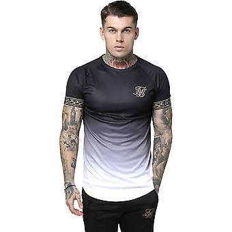 Sik Silk Fade Tech T-Shirt Black 09