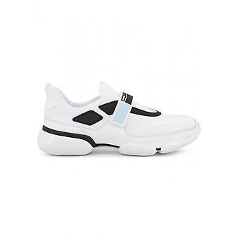 Prada - Chaussures - Baskets - 2OG064-F0BET - Hommes - blanc, noir - 40
