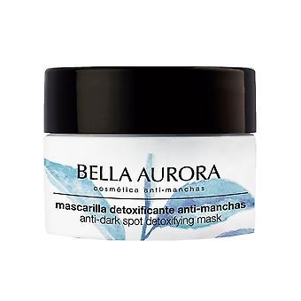 Bella Aurora Limpieza Facial Mask Detoxificante Anti-manchas 75 Ml Unisex
