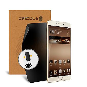 Celicious Privacy 2-Way Anti-Spy Filter Screen Protector Film Compatible with Gionee M6 Plus