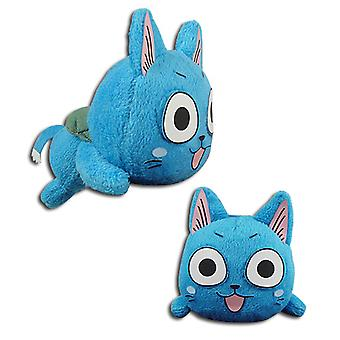 Plysch-Fairy tail-Happy mini ligger ner Soft Doll licensierad ge52350
