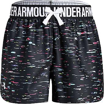 Under Armour Girls Play Up Printed Short