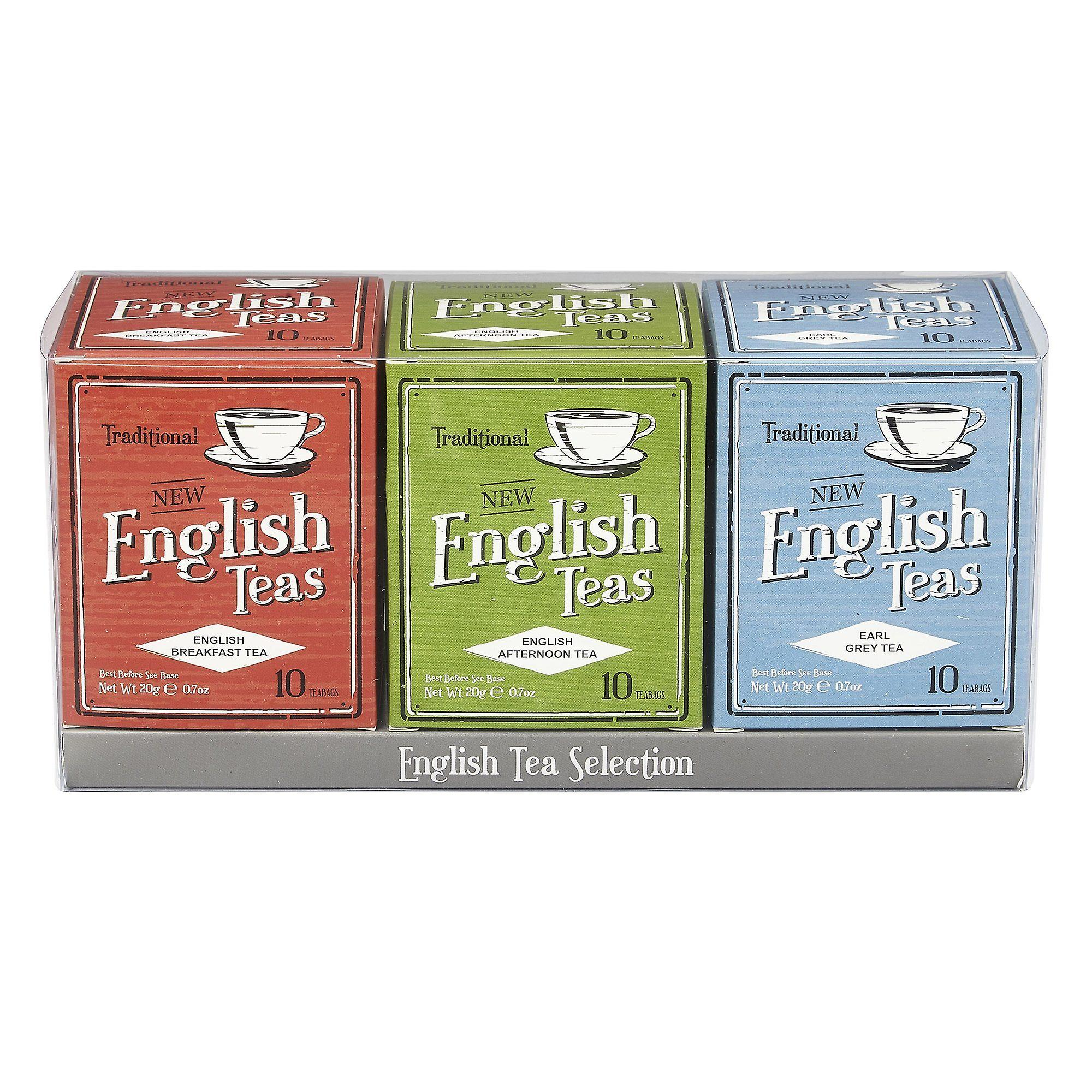 Vintage english teas triple tea gift pack