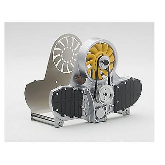Yellow Air-Cooled Engine Letter Holder