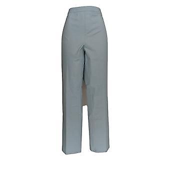 H di Halston Women's Plus Jeans Studio Stretch Straight Blue A289515