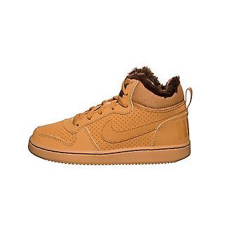 Nike Court Borough Orta Kış AA3458700 evrensel kış çocuk ayakkabıları