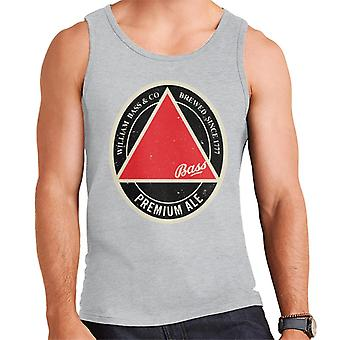 Bass Red Triangle Label Men's Vest