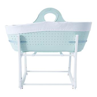 Tommee Tippee Sleepee Basket & Stand - Mint Green
