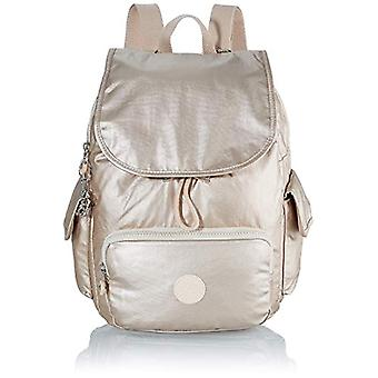 Kipling City Pack S - Women's Gold Backpacks (Cloud Metal) 27x33.5x19 cm