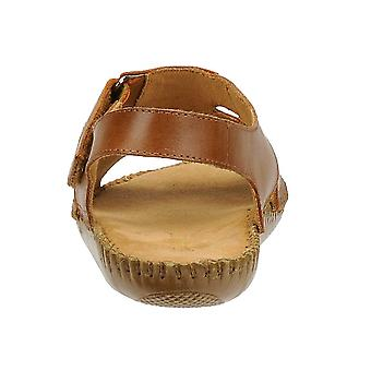 Auditions Womens Sprite Leather Open Toe Casual Espadrille Sandals