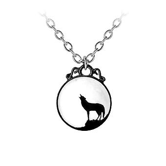 Alchemy Pewter Pendant Wolf