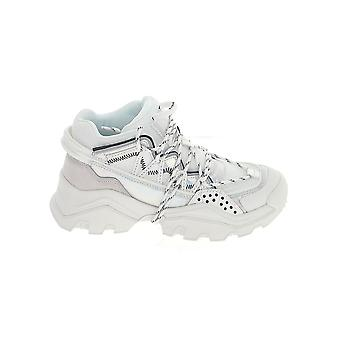 Kenzo F962sn300f8201 Women's White Leather Sneakers