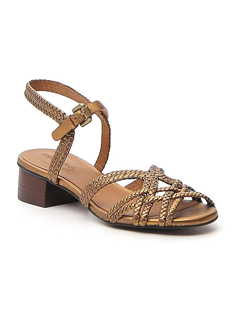 See By Chloé Sb34161a11242087 Women's Bronze Leather Sandals