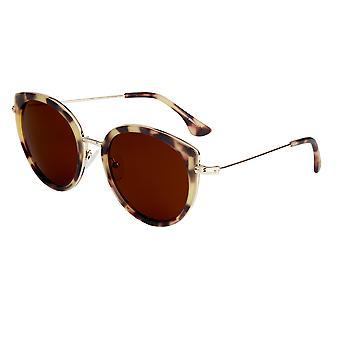 بيرثا ريس النظارات الشمسية المستقطبة - السلحفاة / براون