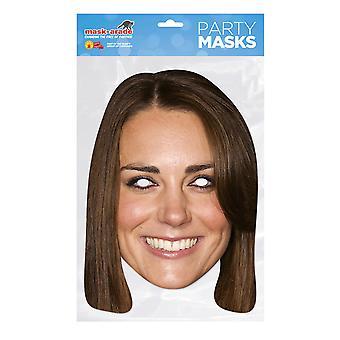 Bristol nyhet kvinner/damer Kate Middleton Card Mask
