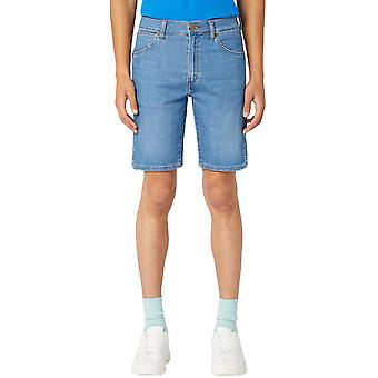 Wrangler Pánske 5 vreckový denim ležérne kolená dĺžka pravidelné fit šortky-El Zonda