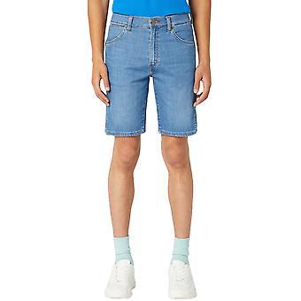 Wrangler Mens 5 Pocket Denim Casual Knee length Regular Fit Shorts - El Zonda