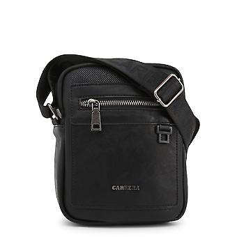 Carrera Jeans Original Heren Lente/Zomer Crossbody Bag Zwarte Kleur - 70692