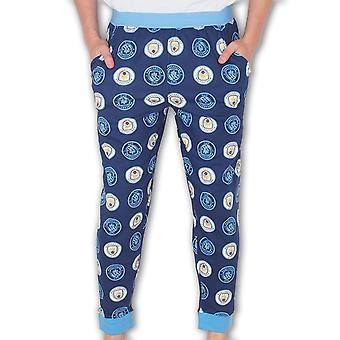 Manchester City FC Official Football Gift Mens Lounge Pants Pyjama Bottoms