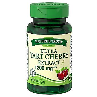 Nature's truth ultra tart cherry, 1200 mg, quick release capsules, 90 ea