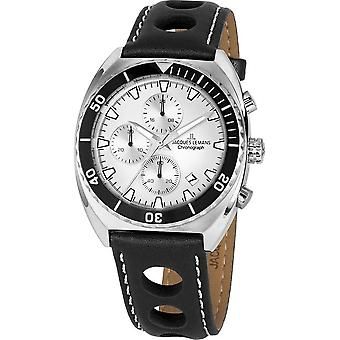 Jacques Lemans - Wristwatch - Uomini - Serie 200 - Classico - 1-2041B