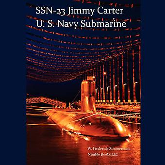 SSN23 JIMMY CARTER U.S. Navy Submarine Seawolf class by Zimmerman & W. Frederick