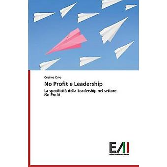 No Profit e Leadership by Cirio Cristina