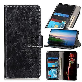OnePlus 8 Brieftasche Fall - Schwarz