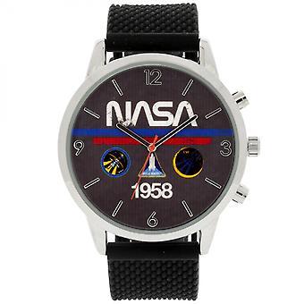 NASA 1958 Analog Watch with Silicone Band