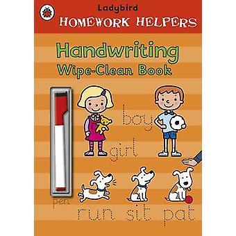 Coccinella compiti a mano aiutanti-grafia Wipe-libro pulito-978140930618